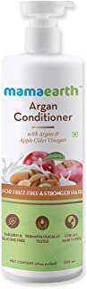 Mamaearth Argan & Apple Cider Vinegar Hair Conditioner For Dry & Frizzy Hair, with Argan Oil & Apple Cider Vinegar for Frizz-Free and Stronger Hair - 250ml