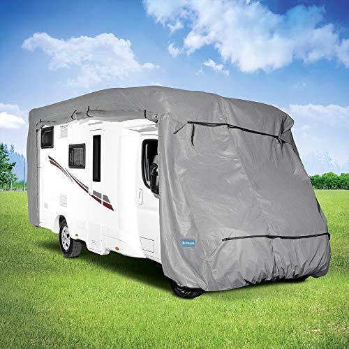 KREMER - Wohnmobil-Abdeckplane für Wohnmobile, Camping, Outdoor (L)
