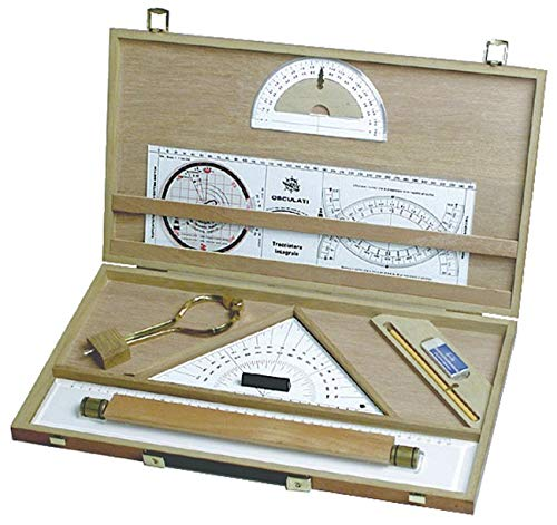 Osculati Navigationsset im Holzkasten