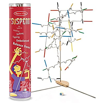 Melissa & Doug Suspend Family Game - The Original (Classic Games, Exciting Balancing Game, Develops Hand-Eye Coordination, Great Gift for Girls and Boys - Best for 8, 9, 10 Year Olds and Up)