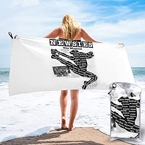 XCNGG Microfiber Travel Towel Sets, Quick Dry Sports Gym Beach Towels - Super Absorbent,Sweat Towels,Perfect for Camping,Gym,Beach,Swimming,Backpackingnewsies 27.5'x55'
