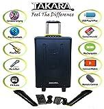 Takara Karaoke Speaker T-5112a Trolley 12-inch Woofer Portable Multimedia Bluetooth Karaoke Speaker