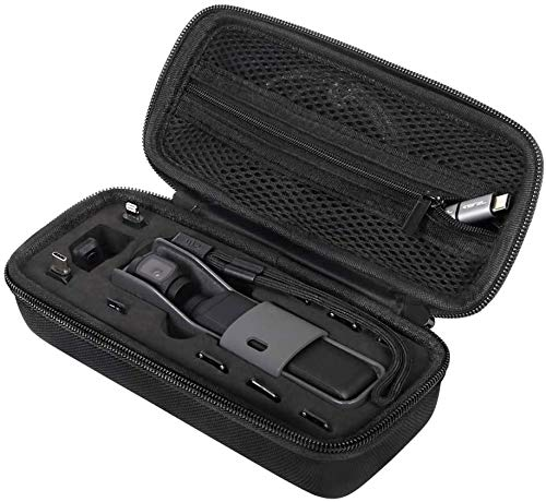JSVER Carrying Case for DJI Osmo Pockets DJI Pocket 2 Expansion Kit Controller Wheel, ND Filters, SD Memory Cards, Smartphone adapters and Accessories