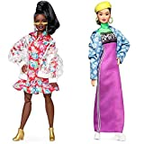 Barbie Bmr 1959 Muñeca De Moda, Look Chaqueta Transparente De Vinilo (Mattel Ght94) + Muñeca Bmr 1959, Look Cazadora Denim, Regalo para Niñas Y Niños 3-9 Años (Mattel Ght95), Color/Modelo Surtido