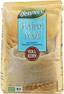 dennree Weizen-Vollkornmehl 1 kg - Bio