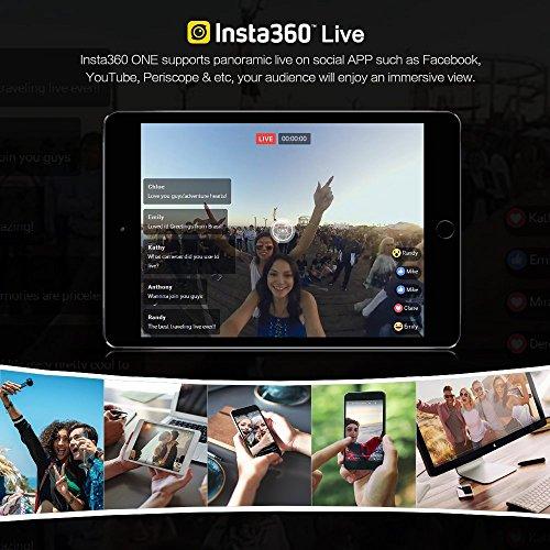 Insta360 INSTA360 One, 360 Grad VR-Kamera für iPhone,Gold - 5