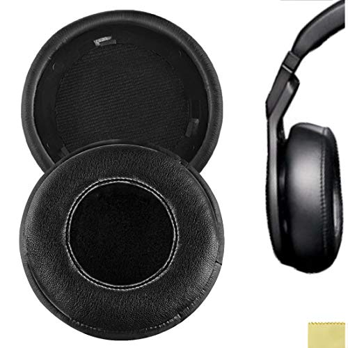 Geekria Earpad for Monster Beats by Dr. Dre Pro Detox Headphone Replacement Ear Pad / Ear Cushion / Ear Cups / Ear Cover / Earpads Repair Parts (Black)