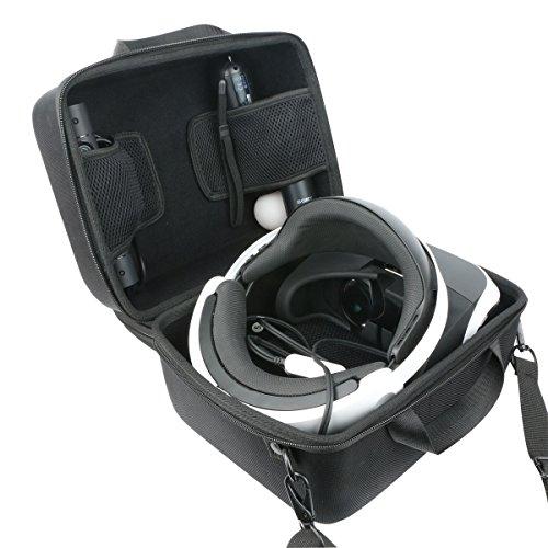 Khanka Hart Tasche Schutzhülle für Sony PlayStation 4 PS4 Virtual Reality VR headset.(Nur tasche)