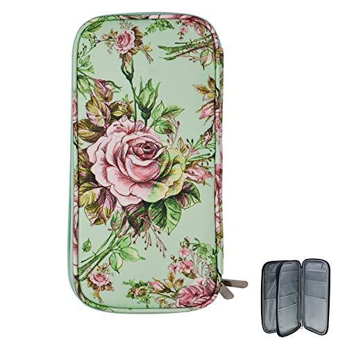 Katech Häkelnadel-Set Tasche, Nähset Tasche für Häkelnadeln und Stricknadeln, Häkelzubehör für Zuhause und Reisen (Grün)