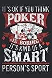 Funny Poker Smart Sport Distressed Exas Hold Em Card Game: Daily Planner - Undated Daily Planner for Staying on Track