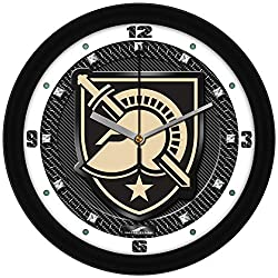 SunTime Army Black Knights - Carbon Fiber Textured Wall Clock