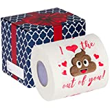 Funny Valentines Gifts for Husband - Valentines Toilet Paper | I Love...