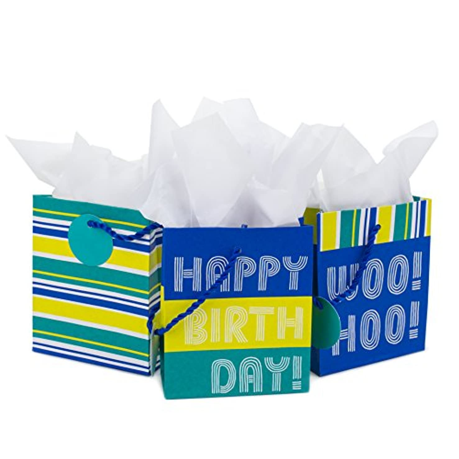 Hallmark Gift Card Holder for Birthdays, Graduations and More (3 Pack, Woo Hoo!)