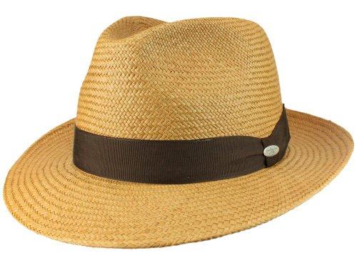 Mayser Homme Chapeau Fedora Torino marron