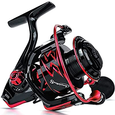 Amazon - 72% Off on Spinning Reels Ultra-Weight, 6.2: 1 High Speed Gear Ratio, Metal Frame and Rotor