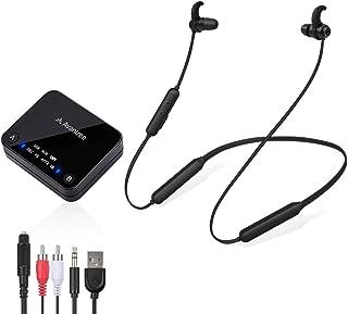 Avantree HT4186 Wireless Headphones Earbuds for TV Watching, Neckband Earphones Hearing..