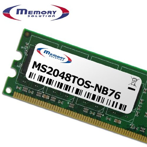 Memory Solution MS2048TOS-NB76 2GB Arbeitsspeicher - 2GB Speichermodule (Laptop, Toshiba Satellite A300D)