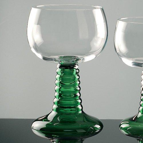 JOSKA Bodenmais Großer Weinrömer mit grünem Fuß 3 Liter