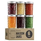 Canning Jars-Self-sealing and long lasting, these are the best jars for canning pickles, tomatoes, sauerkraut, salmon, smoked mackerel, kidney beans, and pumpkins in the comfort of your own home. Home canning will make you eat healthy, save you money...