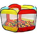 Kiddey 6-Sided Ball Pit Play Tent for Kids