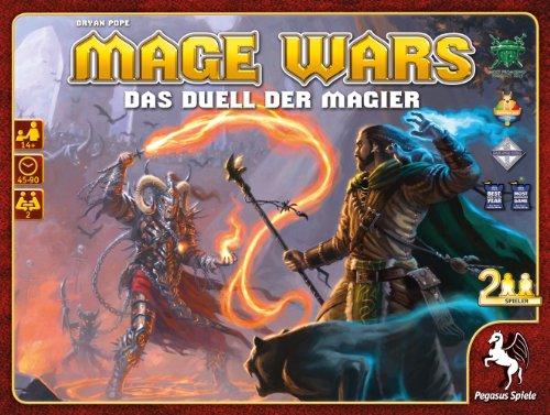 Pegasus Spiele 51860G - Mage Wars (deutsche Ausgabe)