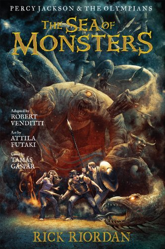 Percy Jackson and the Olympians: The Sea of Monsters: The Graphic Novel (Percy Jackson and the Olympians: The Graphic Novel Book 2) (English Edition)