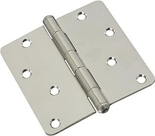 National Hardware N225-953 514RC Door Hinges - Stainless Steel in Stainless Steel, 4