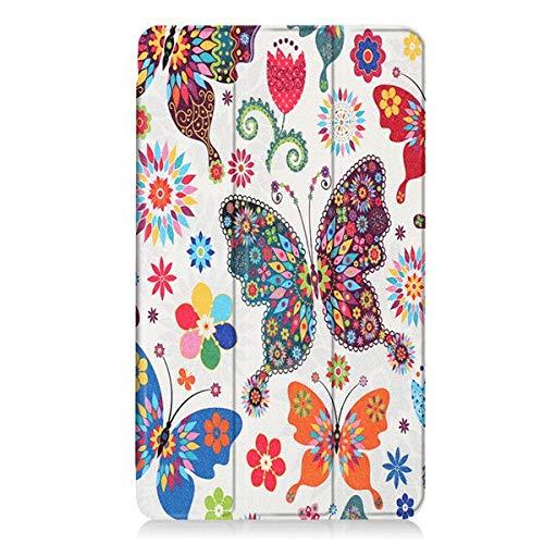 GHC Pad Custodie e Cover Cuoio Verniciato di Nuovo Arrivo di Caso per Huawei MediaPad M3 BTV-W09 BTV-DL09 8.4  Smart Case Tablet Tri-Pieghevole Cover + Stylus + Film (Colore