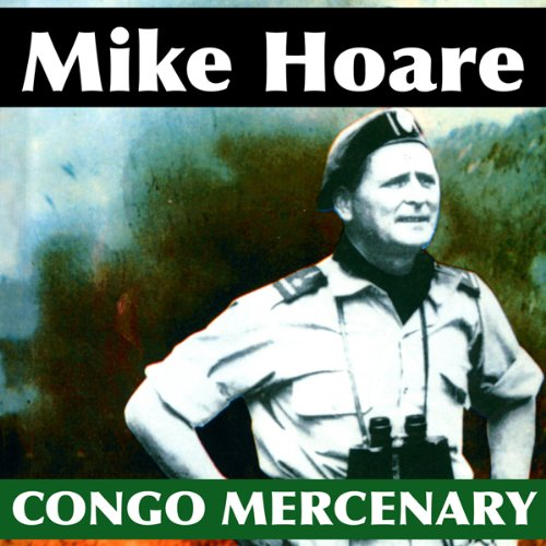 Congo Mercenary audiobook cover art