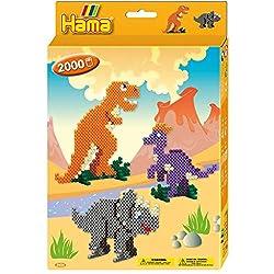5. Hama Beads Dinosaur Kingdom (2000pcs)