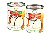 Mae Ploy Coconut Cream - Asian Cuisine Most Popular Cream (2 Cans)