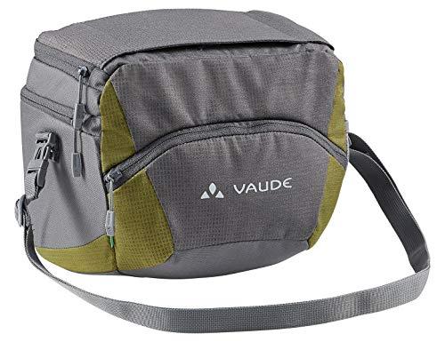 VAUDE Ontour Box L (Klickfix Ready), Tasche per Manubrio Unisex-Adulto, Ferro/bambù, Taglia Unica