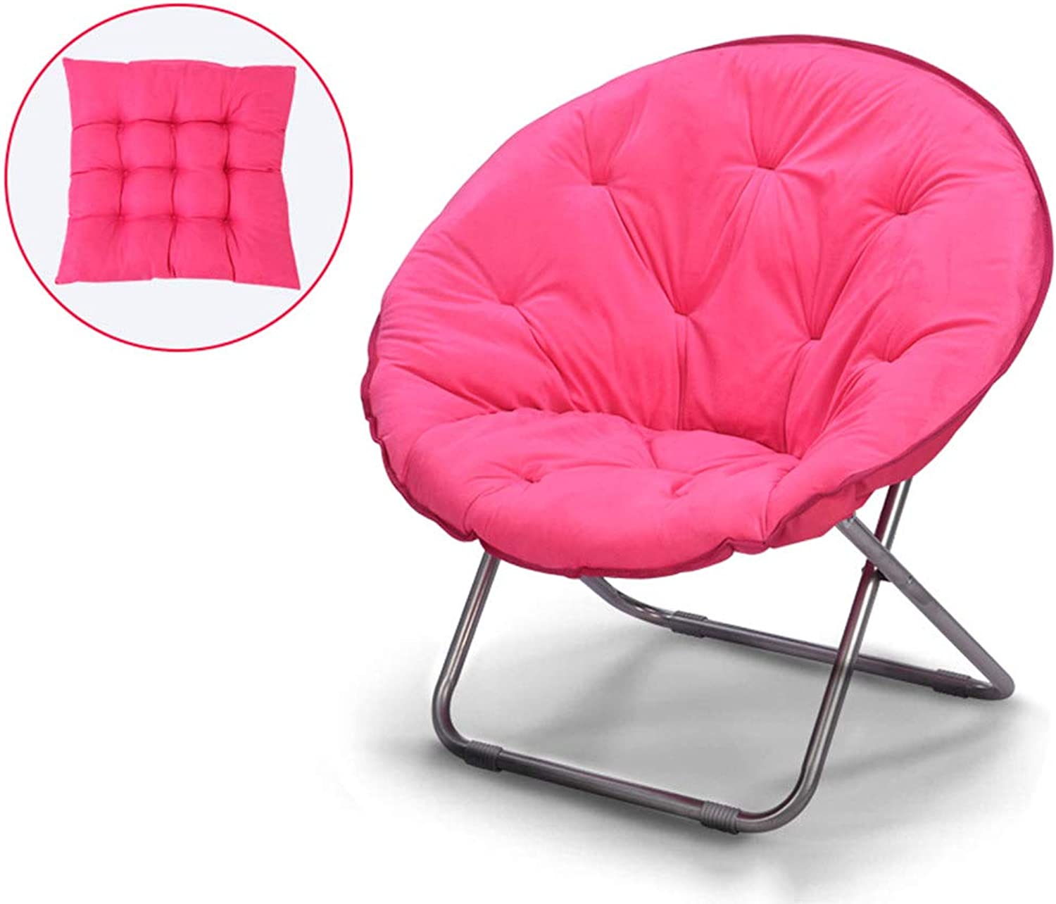 Moon Chair Adult Recliner Folding Chair Living Room Bedroom Bearing Major (not Removable) ( color   C )