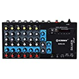 KEKrown Mixer KSM-6U with built in USB Media Player (6 Channel Mixer)