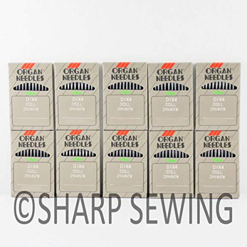 Review Of MACOSKI Supplies for 100 Organ Leather Point Sewing Needles 18 29X4 332LR 332LL Singer 29K...