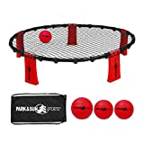 Park & Sun Sports Rally Fire Portable Spike Volleyball Game Set with Accessories