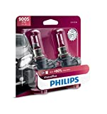 Philips Automotive Lighting 9005 VisionPlus Upgraded Headlight with up to 60% More Vision, 2 Pack