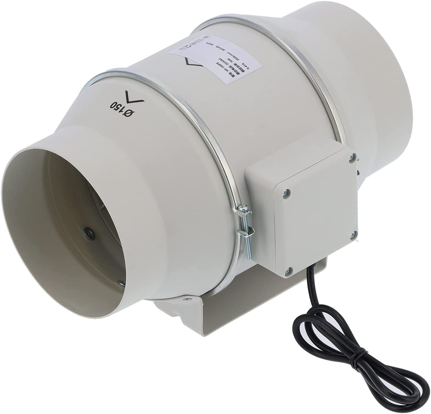 Luroze Exhaust Ventilation Fan Inline Duct -20℃ 60à Max 55% OFF 2021 new to