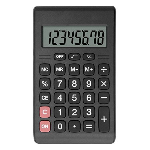 Calculator, Helect Compact Design Standard Function Handheld Portable Calculator - H1007