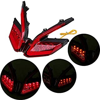 Tuning_Store Motor Integrated LED Tail Light Brake Stop Turn Signal Light for Ducati 899 Y9D5 Quality Accessories for Motorcycle Car Tuning
