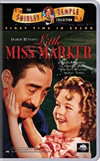 Little Miss Marker VHS