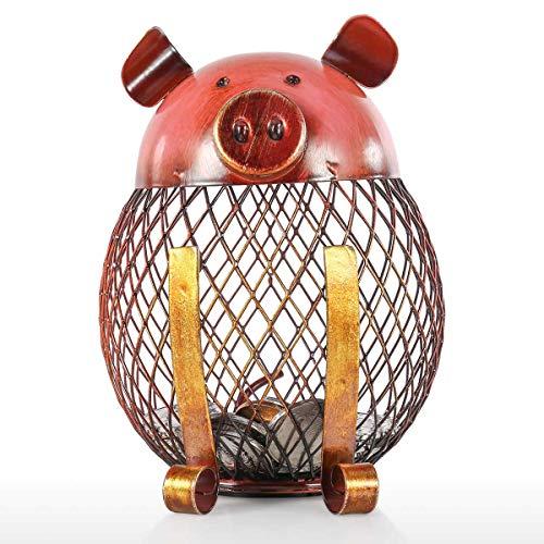 Tooarts Hucha de Cerdito Infantiles Caja para Ahorrar Dinero para Decoración o Regalos Piggy Bank Children Toy