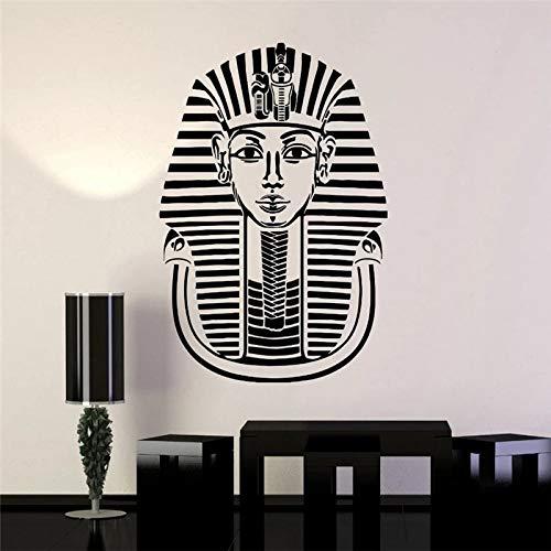 WERWN Altägyptischer Pharao Kunst Raumdekoration Vinyl Wandaufkleber