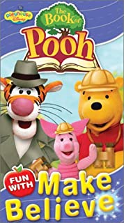 The Book of Pooh - Fun With Make Believe VHS