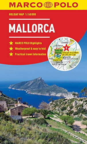 Mallorca Marco Polo Holiday Map 2019 - pocket size, easy fol