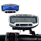 LaDicha Digital LCD Backlight Bicicleta Ordenador Odómetro Bicicleta Velocímetro