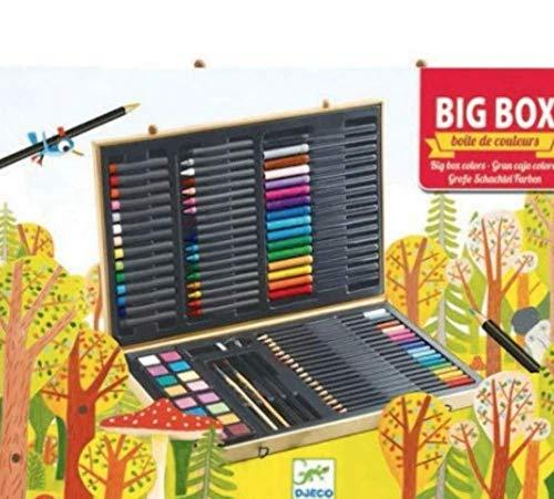 Djeco 17232 Big Box of Colours, Multicolour