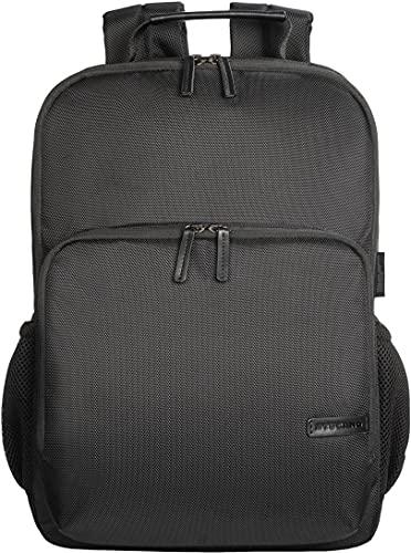 Tucano - Free & Busy Zaino Business Compatibile con MacBook PRO 16  e Laptop 15.6 , Tessuto Tecnico e Ecopelle