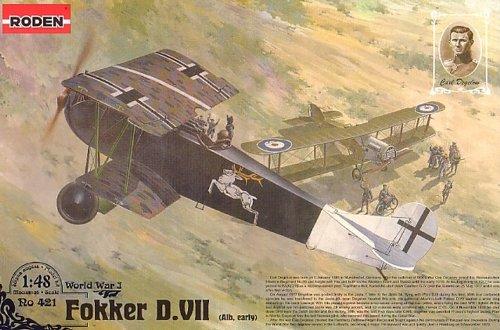 Roden 421 Modellbausatz Fokker D.VII (Albatros built, early) Carl Degelow