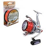 Evo Fishing KP2938 Kit Mulinello Shizuka 8000 + Monofilo Evo Ultracast, 300 m